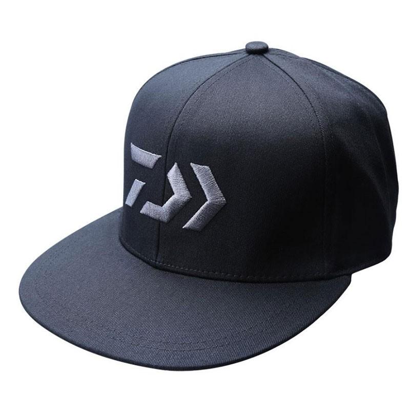 《DAIWA》CA-60020 黑色帽子 中壢鴻海釣具館 百搭板帽 鴨舌帽 釣魚帽
