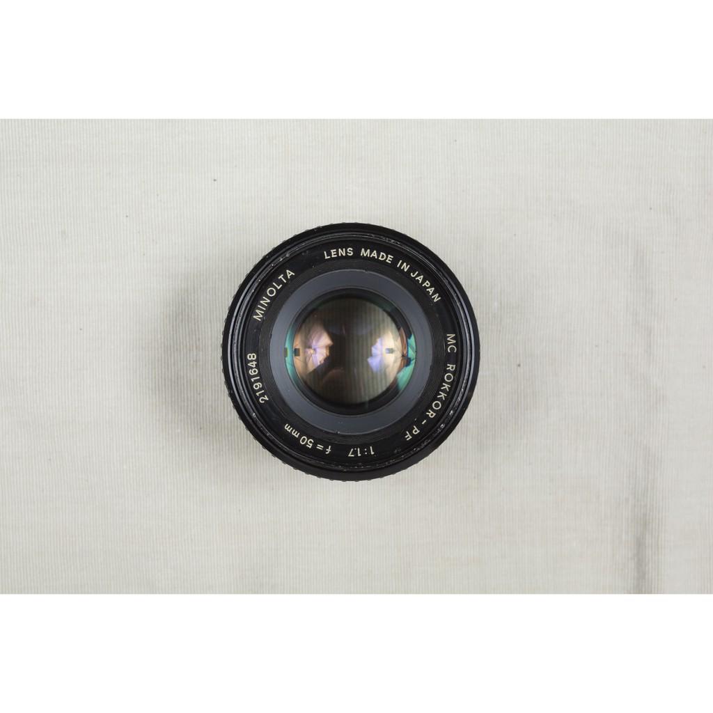 【森寫真機店】Minolta MC Rokkor-PF 50mm F1.7