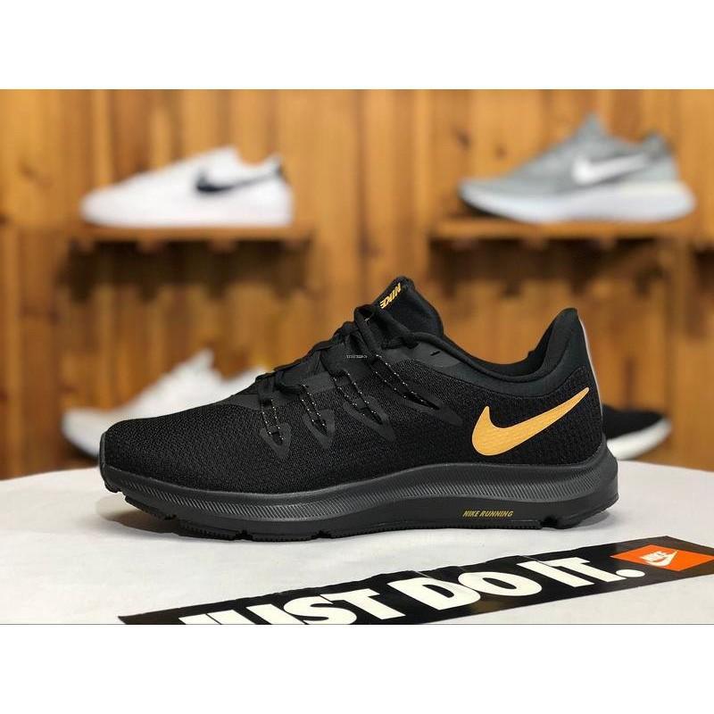 Determinar con precisión Ilustrar Infantil  全新正品Nike QUEST 1.5 全黑百搭網面休閒運動慢跑鞋AA7403 009 男鞋| 蝦皮購物