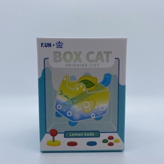 FUN 尋找獨角獸BOX CAT麵包貓甜飲貓系列盒子貓盲盒確認款