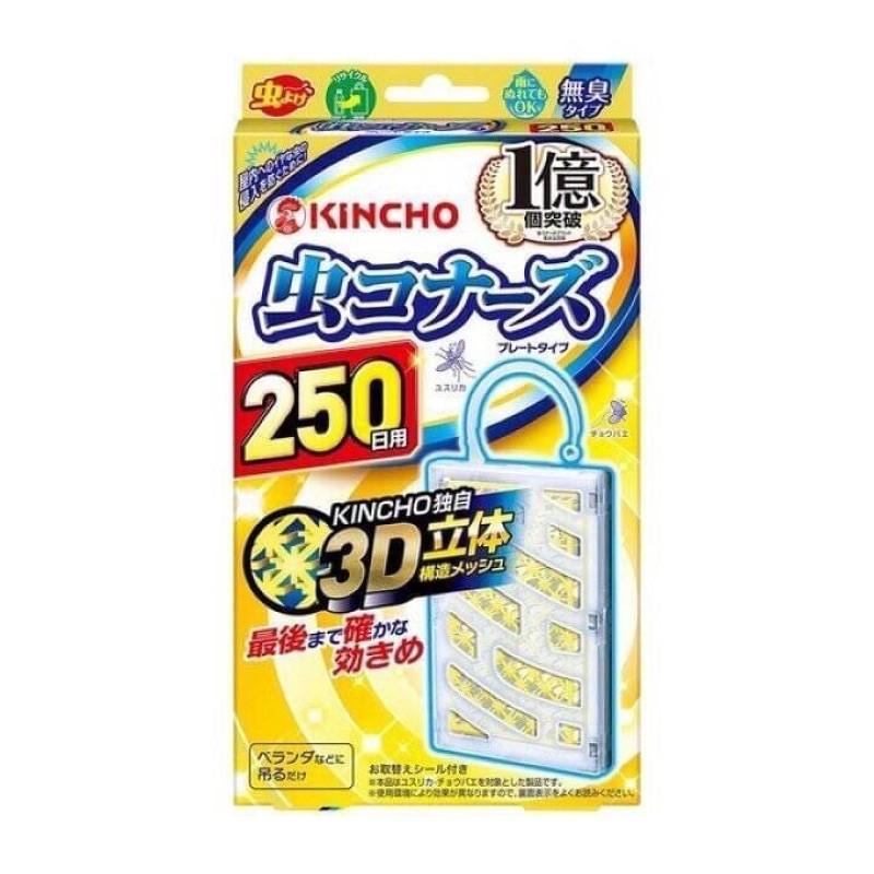 日本金雞 KINCHO 防蚊掛片 250日用 遠離登革熱 現貨
