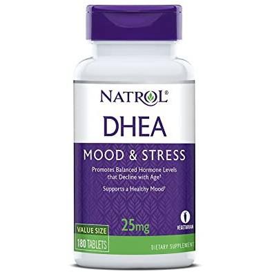 【TF歐美代購】現貨+預購~美國 Natrol DHEA 脫氫表雄酮 25mg 有效期2024