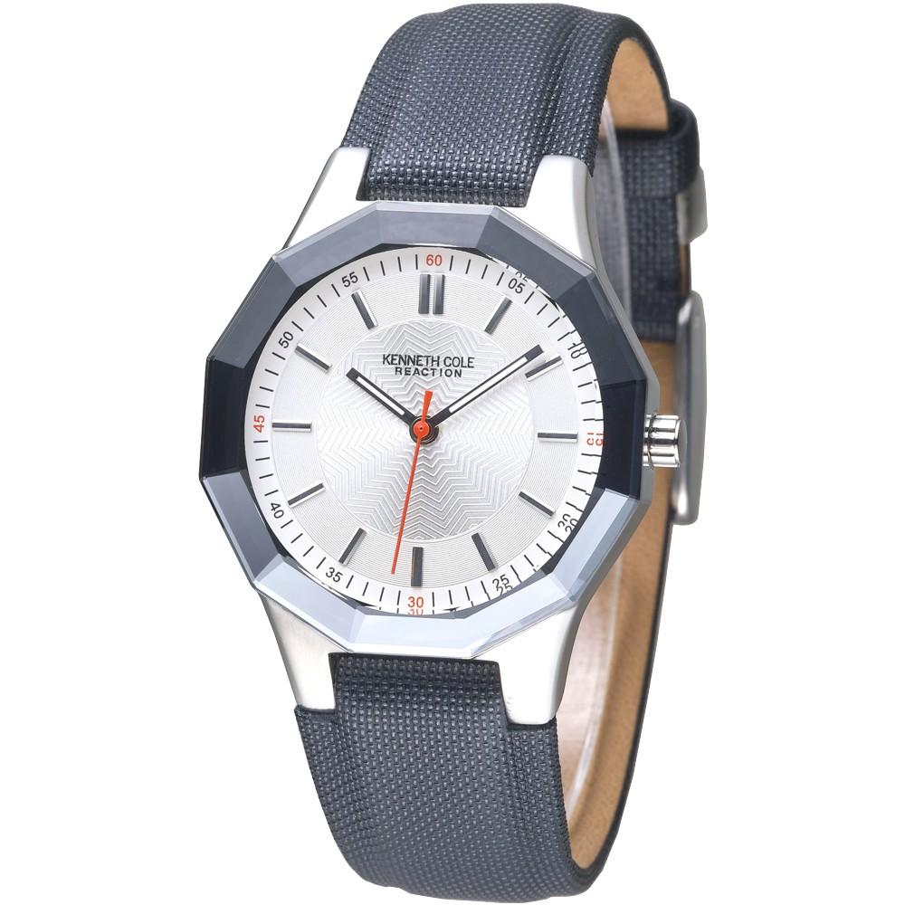 KENNETH COLE 手錶 IKC2471 八面玲瓏時尚腕錶-銀 保固一年 廠商直送