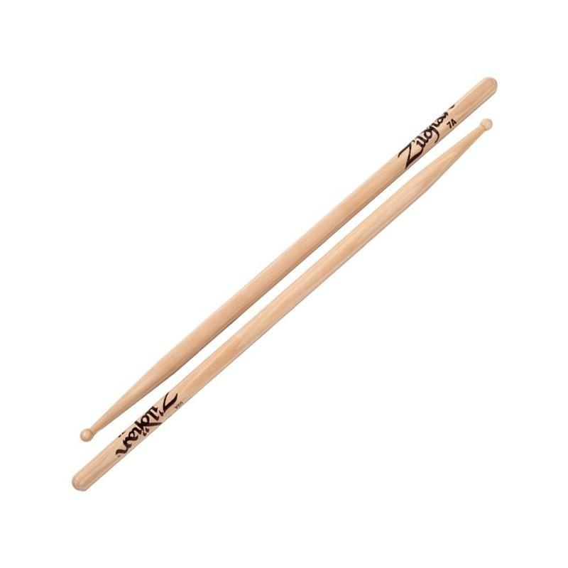 Zildjian鼓棒 7AWN 爵士鼓棒 美國製 胡桃木 原木色 -【黃石樂器】