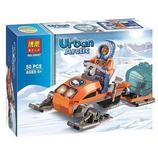 阿樂積木 博樂10437 極地探險 極地雪地車 雪橇車 城市city 非樂高60035 兒童益智拼裝積木 高雄市