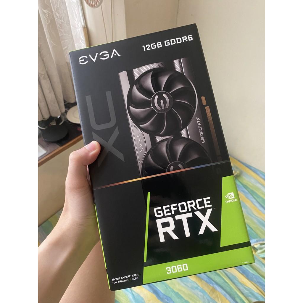 EVGA RTX3060 XC 全新未拆封