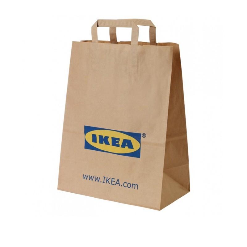 ikea 環保購物袋  購物袋 袋子 收納袋  彩虹袋 經典百搭款購物袋 環保袋 擺攤利器 原色購物袋