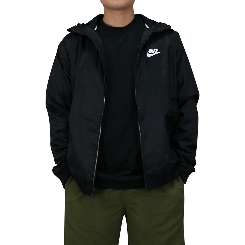 NIKE AS M NSW WR JKT 男連帽風衣外套 DC4113010 黑