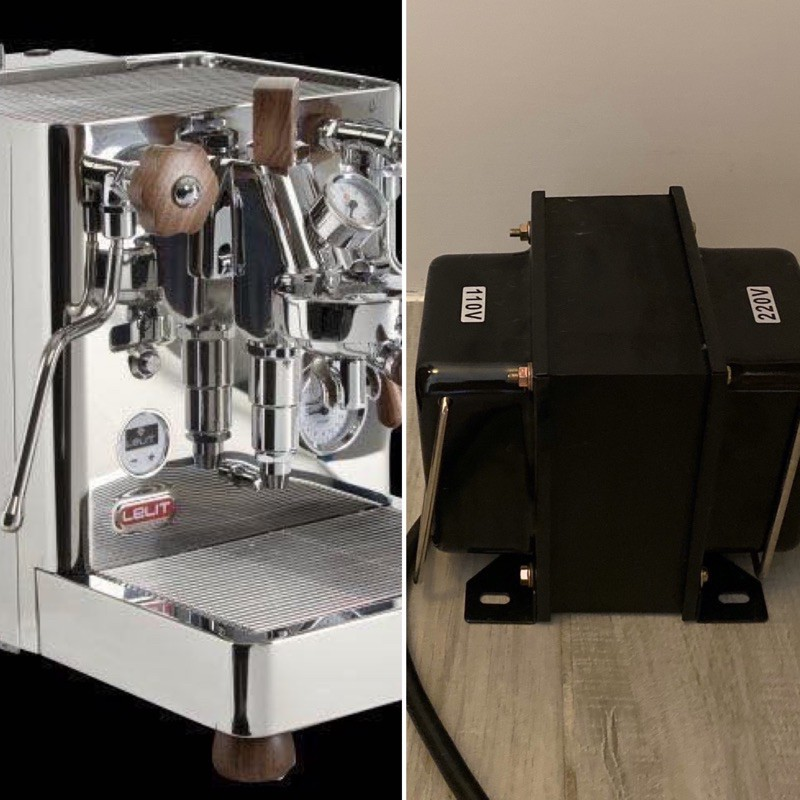 Lelit變壓器優惠組合 Lelit bianca PL162T 可變壓 PID 雙鍋爐 半自動義式咖啡機 公司貨