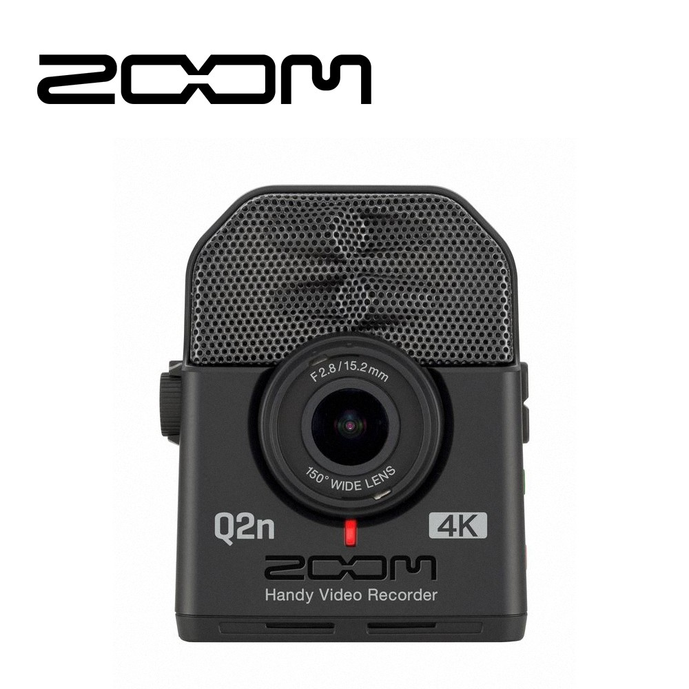 Zoom Q2N-4K 數位錄影機【敦煌樂器】