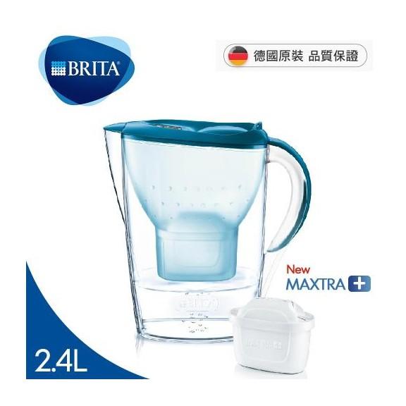 德國BRITA 德國製 馬利拉記憶型2.4L濾水壺 藍色 (內含濾芯x1)