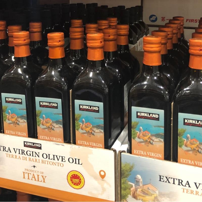 [美化小舖]COSTCO 好市多代購 科克蘭 Terra Di Bari 初榨橄欖油 1公升裝#1236329