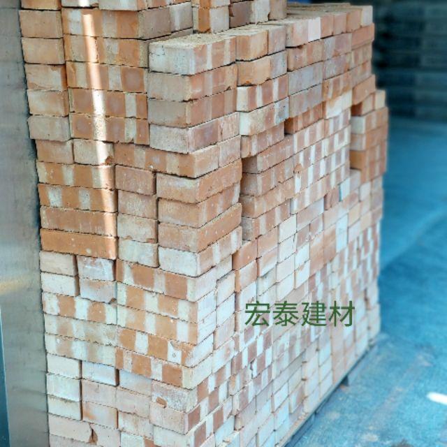 [台北市宏泰建材]紅磚~約19.3x8.5x4.2公分(另有售空心磚)