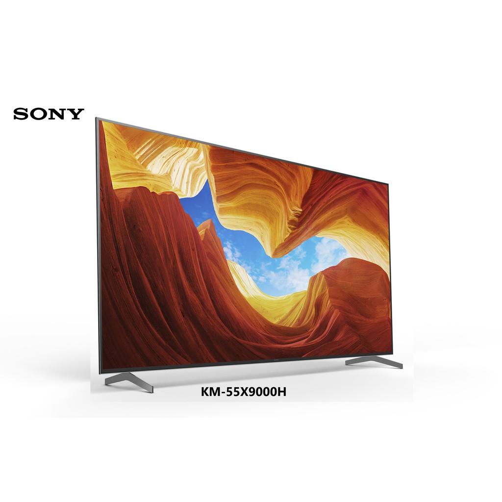 SONY 索尼 55吋 4K 連網顯示器 KM-55X9000H 日本製造【雅光電器商城】