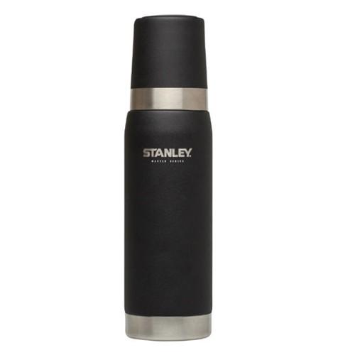 Stanley 美國 大師真空保溫瓶 0.75L 304不鏽鋼保溫水壺 大師系列 黑 10-02660 綠野山房