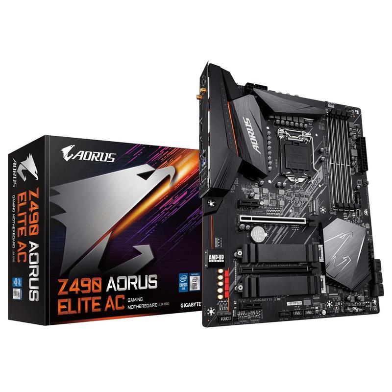 請詳文 技嘉 Z490 全系列 + 10代CPU / I7-10700K / I5-10400