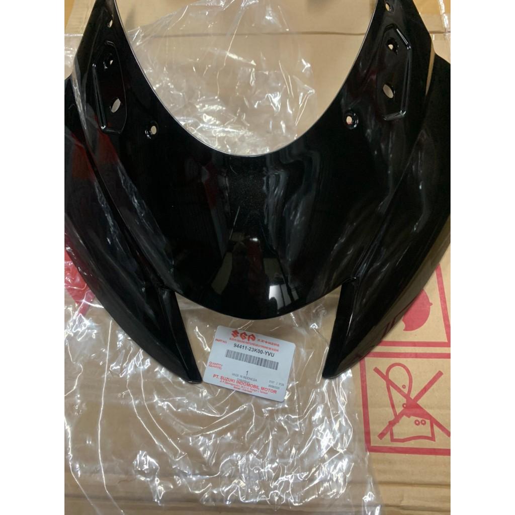 GSX R150 亮黑色 小阿魯 大燈上蓋 大燈罩 頭罩 面罩 導流罩 整流罩 車殼 94411-23K00-YVU