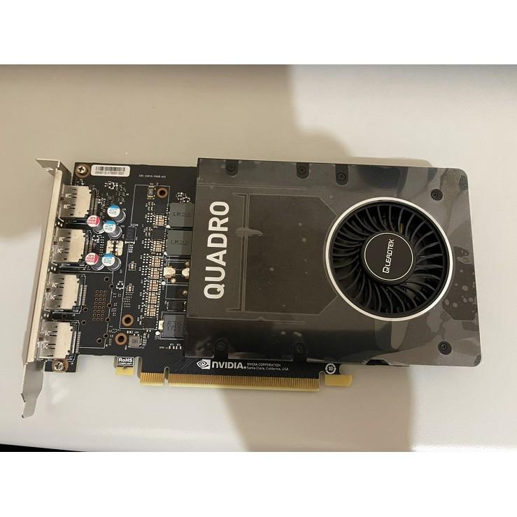 麗台 QLEADTEK NVIDIA Quadro P2000 拆機良品