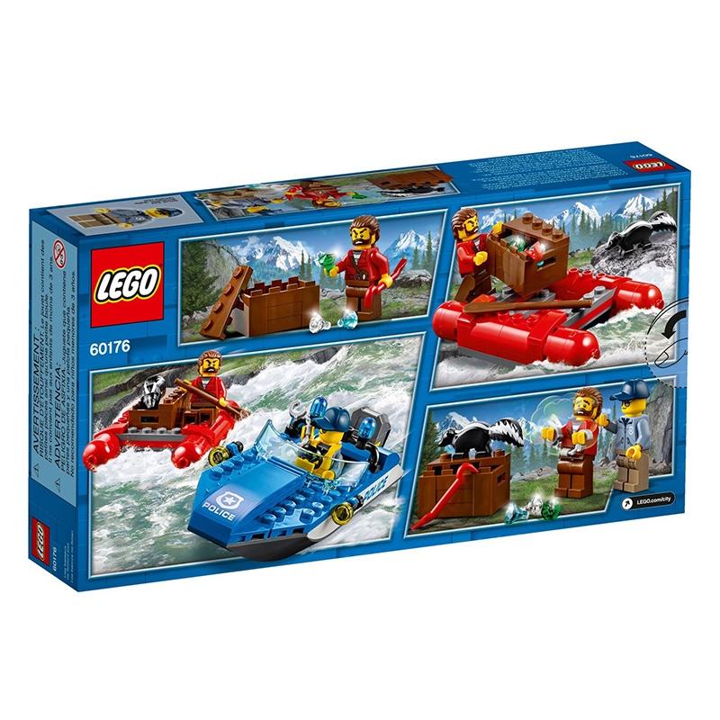 【YYDS】【速發】【HANI量販】樂高LEGO 60176 激流追擊 城市警察英雄正義養成