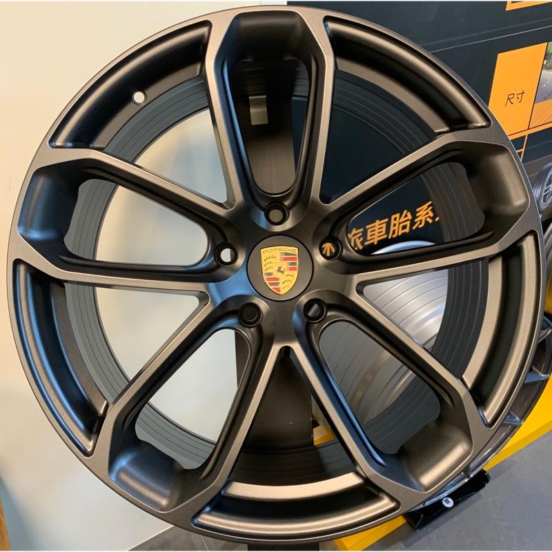 全新台灣製旋壓21吋Porsche cayenne coupe專用鋁圈組