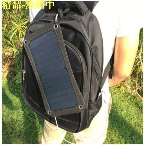 sunpower太陽能板單UBS穩壓器充電手機平板MP3戶外釣魚太陽能充電應急充電旅行野餐充電器發電
