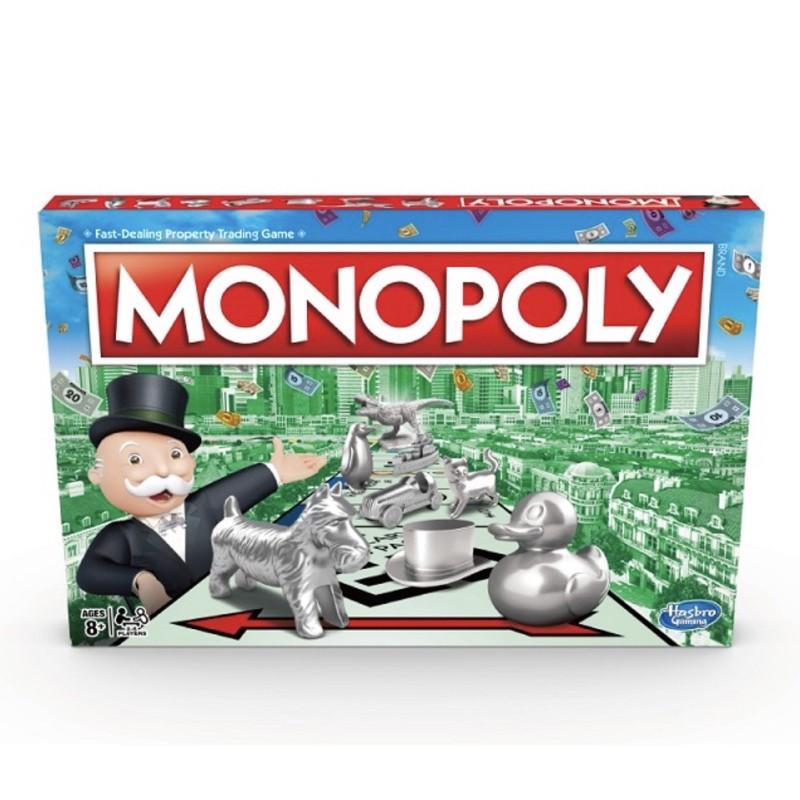正版全新未拆免運費可刷卡 地產大亨Monopoly經典 快速成交地產投資遊戲