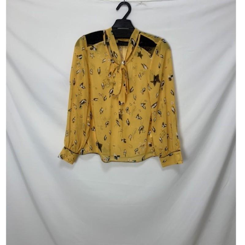 亞米Larv'va  黃色襯衫