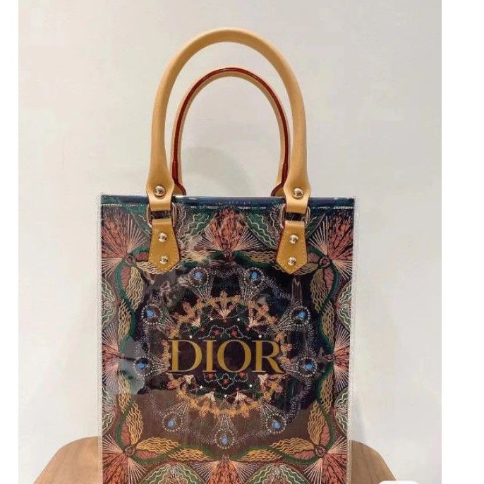 dior 聖誕限量 紙袋包