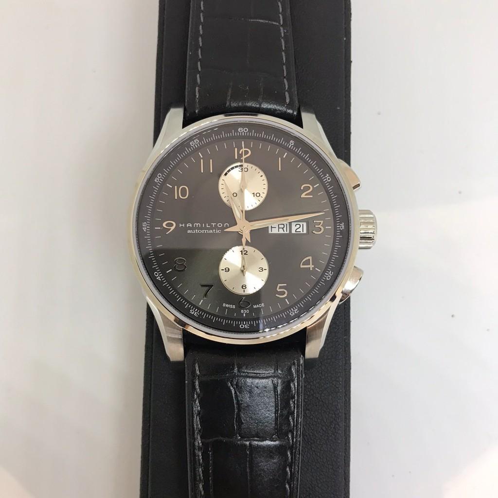 《清倉》HAMILTON漢米爾頓/機械皮帶腕錶(H32766783) {葳葳的精品}