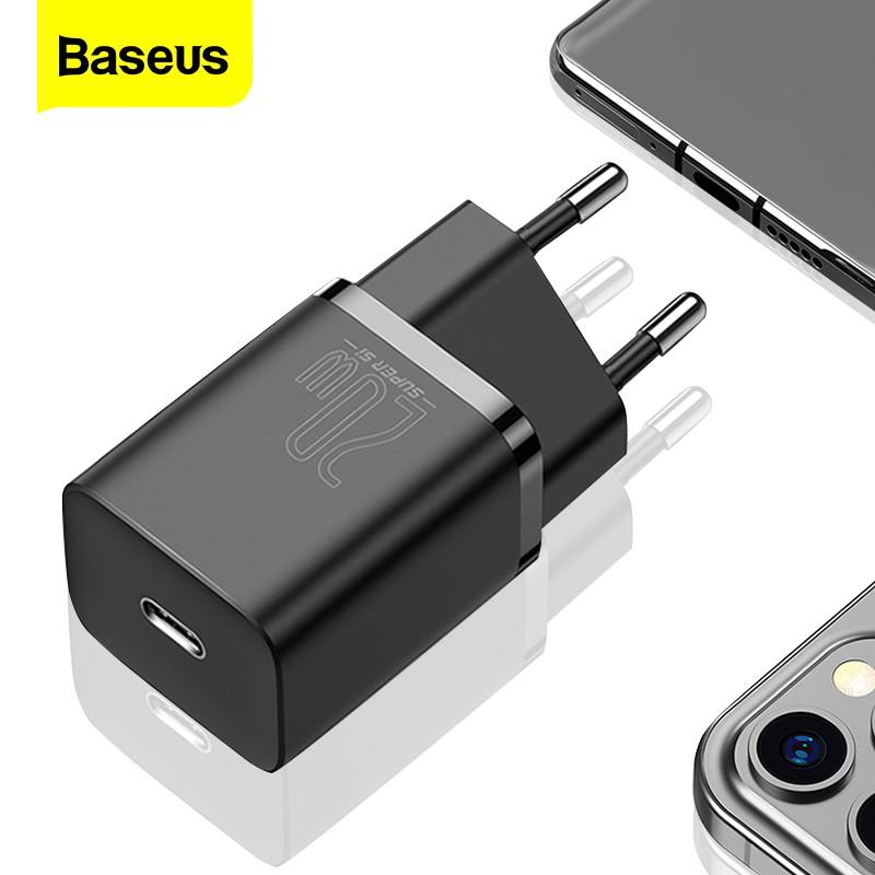 適用於 Iphone 12 Pro Max 的 Baseus Super Si Usb C 充電器 20w 支持 Typ
