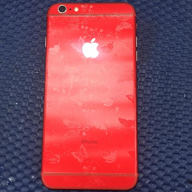 「小資通訊」Iphone6s plus 16G 紅色 白面板