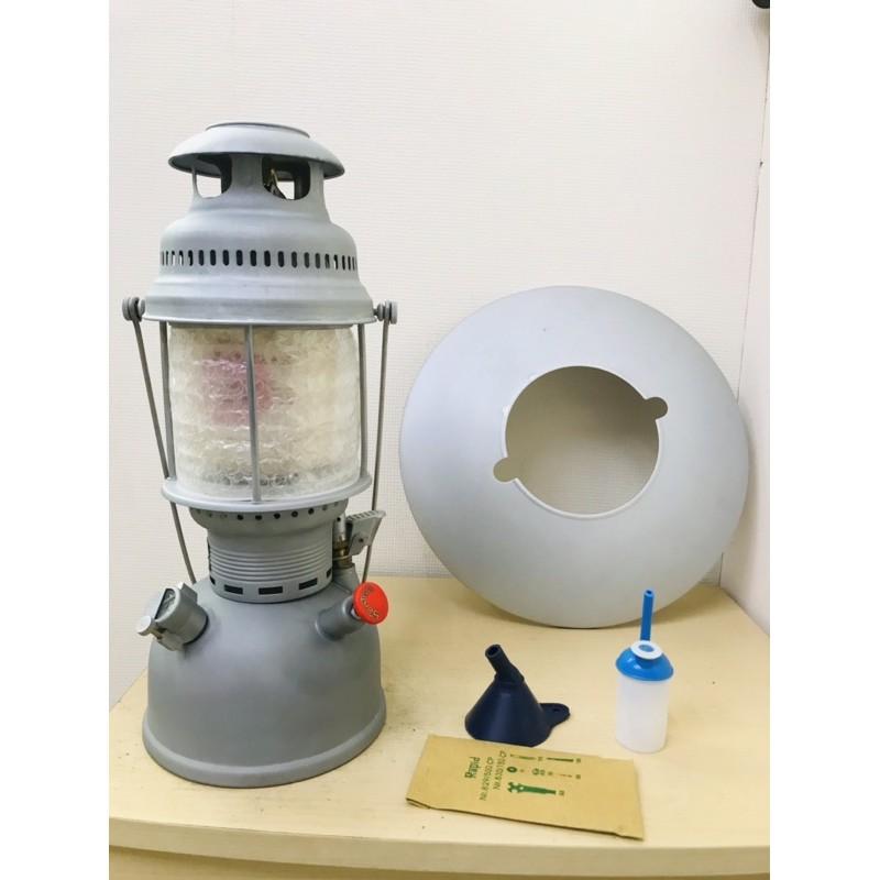 售 品名:全新SANTRAX 829/500cp消光灰煤油汽化燈 包含酒精壺漏斗工具包 反
