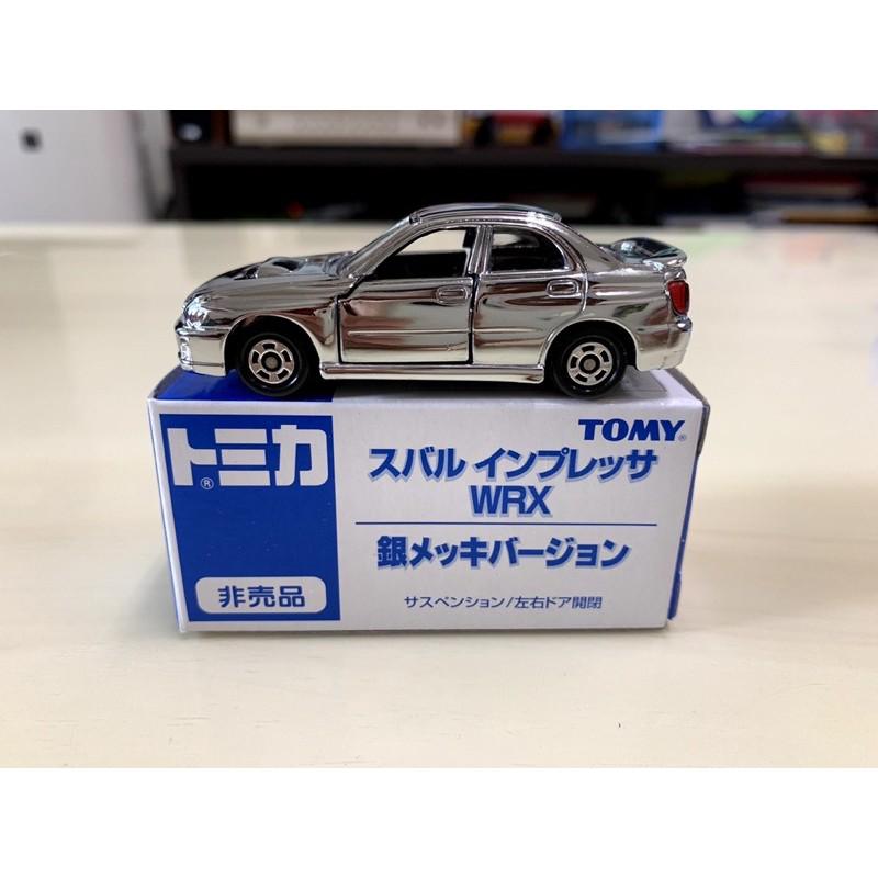 [現貨]Tomica Tomy 舊藍標 非賣品 Subaru Impreza WRX