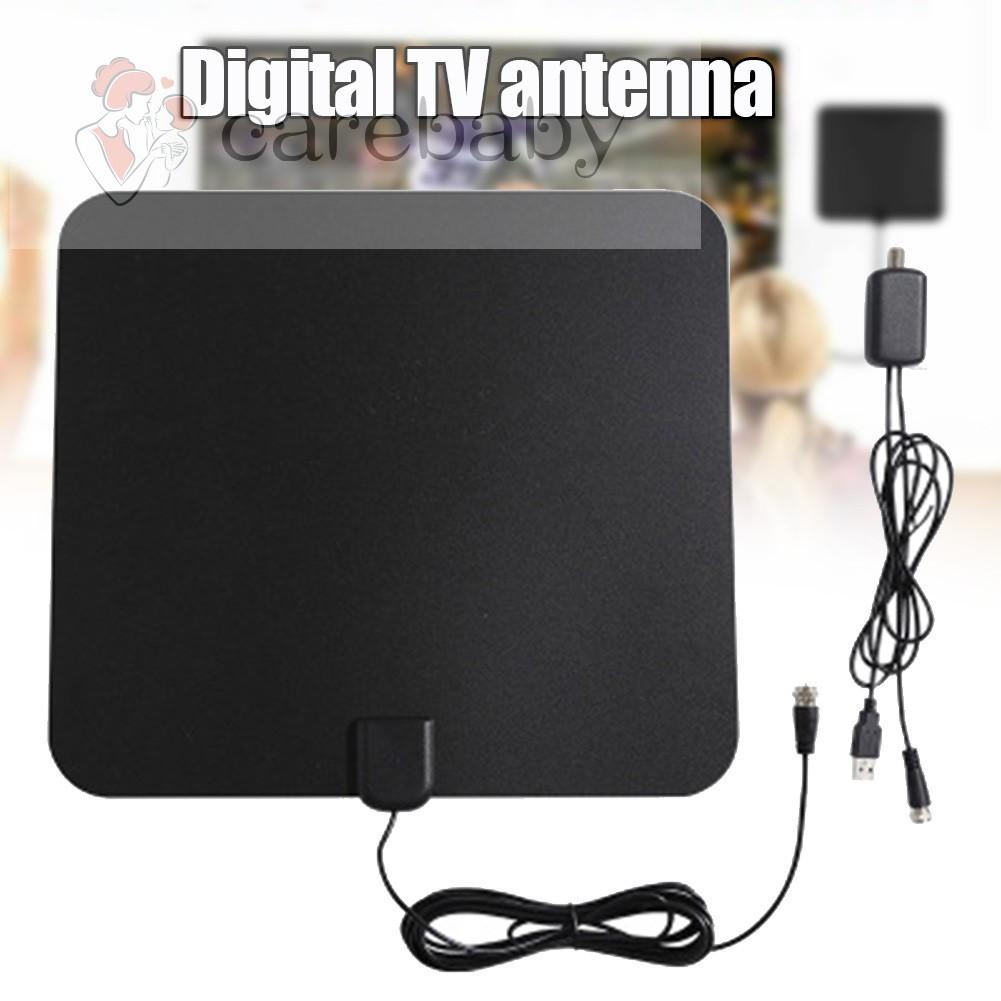 CB 1000Miles電視天線家用室內戶外4K 1080P HDTV數字頻道