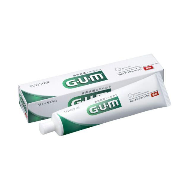 日本代購 GUM 三詩達 牙周 預防 護理 牙膏 155g