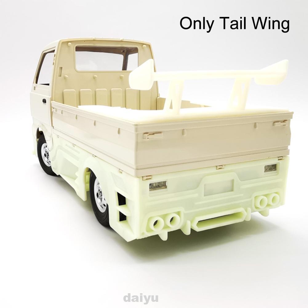Rc 汽車尾翼升級玩具車身變質器更換零件易於安裝 WPL D12 的越野