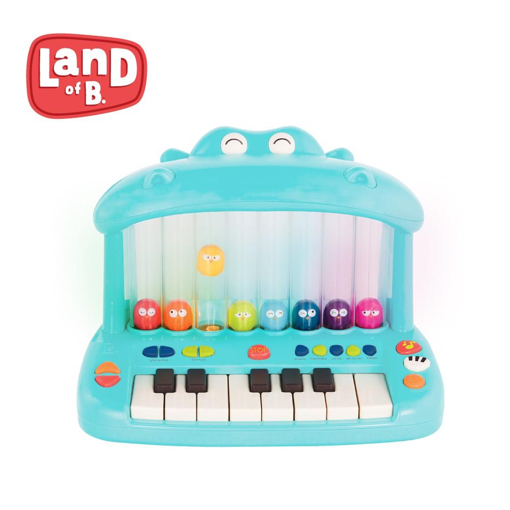 B.Toys  Land of B.  噴氣河馬彈鋼琴 音樂玩具 鋼琴