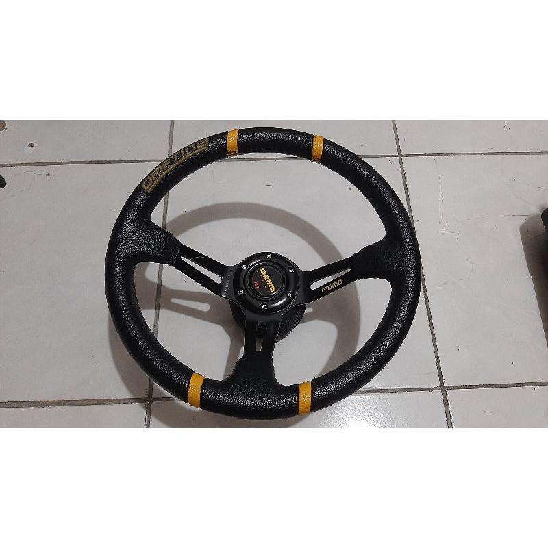 Honda k8 專用方向盤底座+方向盤 二手