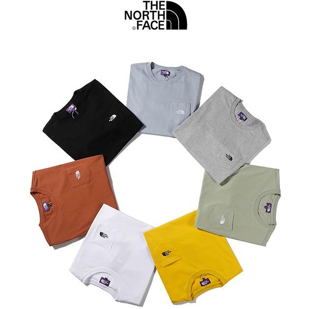 2021 新款 純棉 高品質 短袖 THE NORTH FACE 北面 紫標 Tee短袖 T恤 休閑上衣 圓領 男女同款