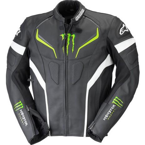 【德國Louis】Alpinestars Monster Shadow 摩托車皮衣外套 A星鬼爪防摔衣皮夾克207286