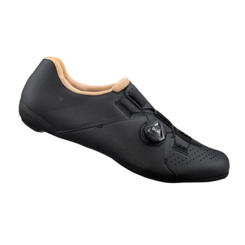 SHIMANO RC3 女性基本款公路車卡鞋(黑)【7號公園自行車】