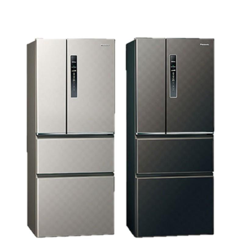 Panasonic國際牌 610公升 無邊框鋼板 變頻四門電冰箱 (星空黑) NR-D610HV-K