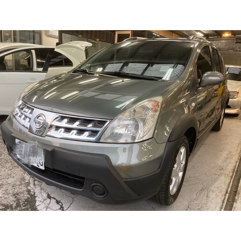 北部看車【二手車中古車】Nissan-Livina-1.6-放架版-三台電視