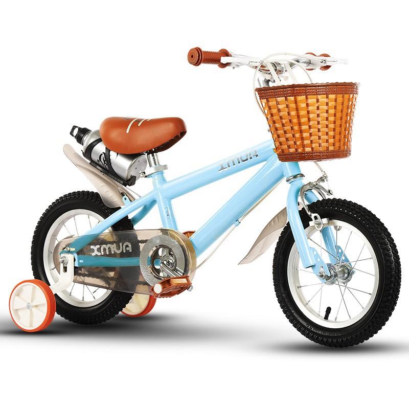 兒童自行車男孩3-6-7-8歲女童公主款寶寶童車女孩腳踏車小孩單車