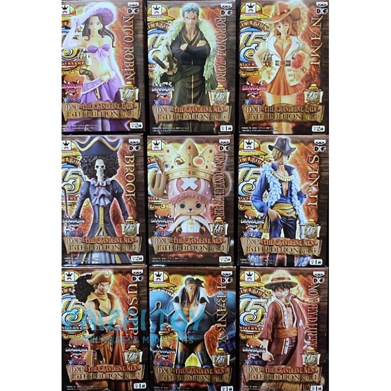 15週年紀念 日空 金證 整組一套 皇冠喬巴 海賊王 收藏逸品 盒況完整 金證大貨