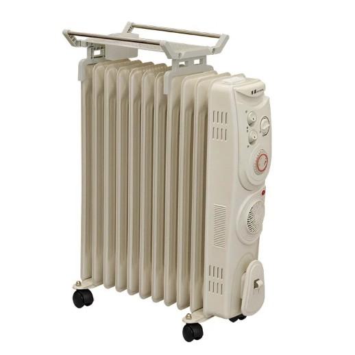 北方葉片式恆溫電暖爐CJ1-11ZL(11葉片)24小時預約定時器+暖風加速器