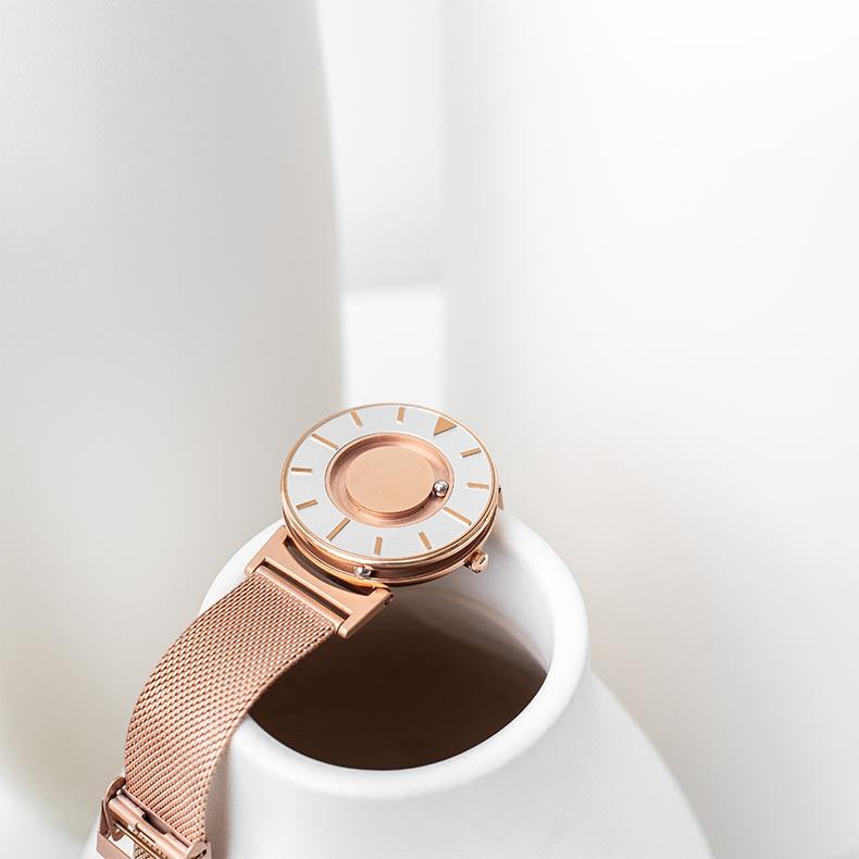 小歡喜李萌徐梵溪同款恆圓 EONE手錶紅點大獎觸感磁力錶BR-RO-GLD