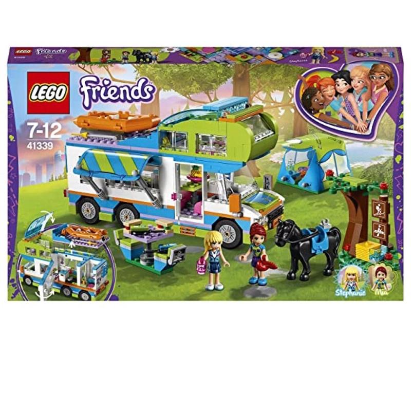 樂高LEGO好朋友系列 41339米婭的野營車