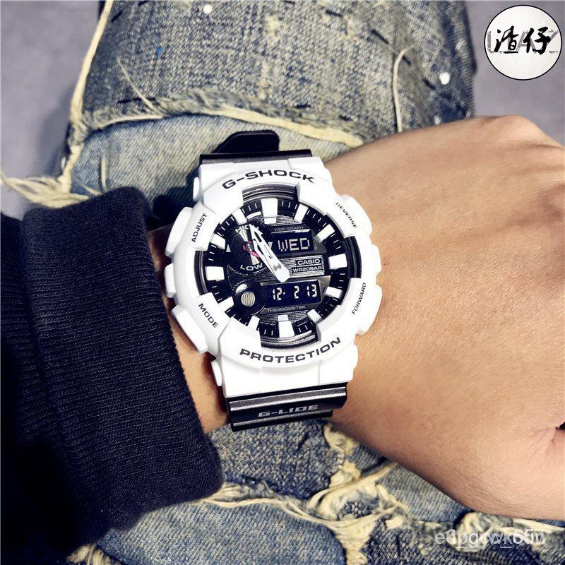 新款CASIO卡西歐G-SHOCK潮汐月相溫度防水運動男女手錶GAX-100B-7A/1A MNB62021新品 Q6z