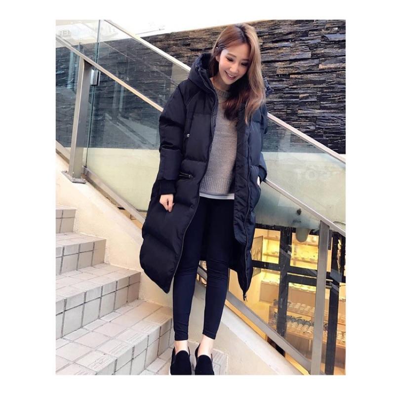 轉售三米 黑色鋪棉外套